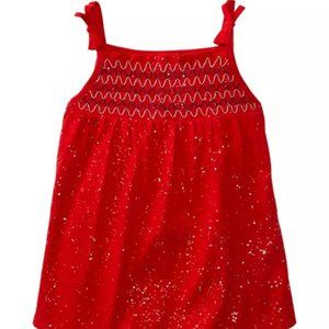 🎉NWT 2 for $20! Girls Smocked Sparkly Tank
